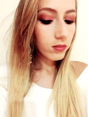 make marsala eduarda makeup