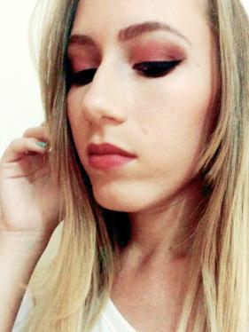maquiagem marsala