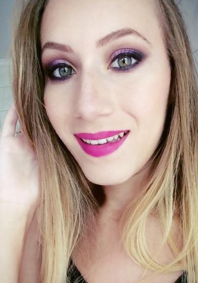 maquiagem outubro rosa eduarda makeup