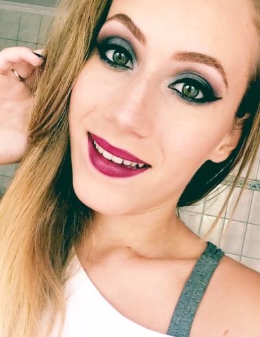 maquiagem azul marinho blog eduarda makeup