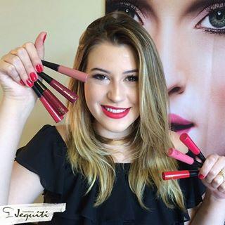 batons niina secrets com a jequiti - blog eduarda makeup