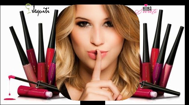 Lançamento batons liquidos matte da niina secrets com a jequiti - blog eduarda makeup